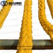 Qingdao  pangu braided pe rope hemp rope mooring manila rope