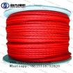 Qingdao  pangu red yacht rope sailboat lines  poly rope  marine rope suppliers
